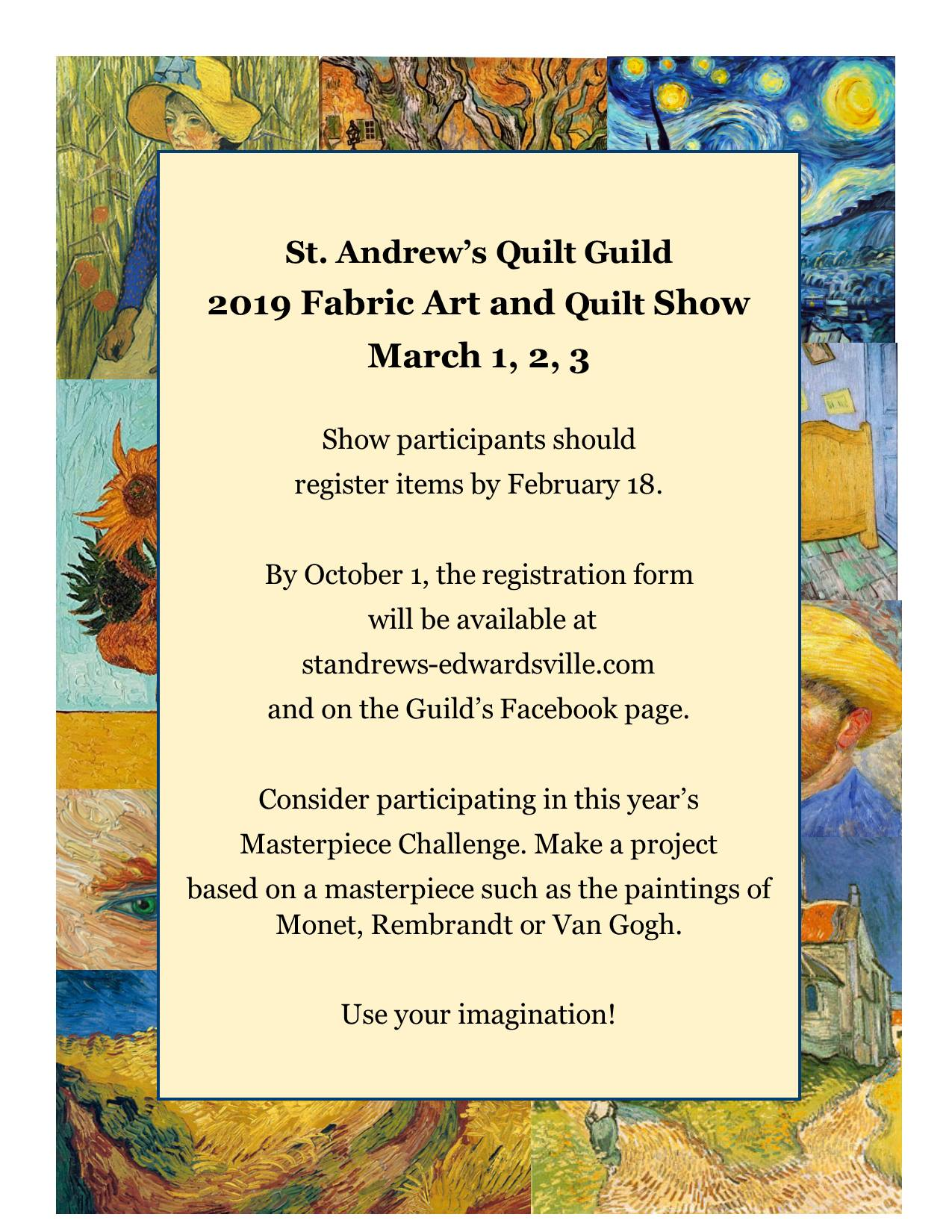 2019 Fabric Art and Quilt Show